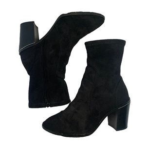 Michael Kors Black Suede Sock Boot